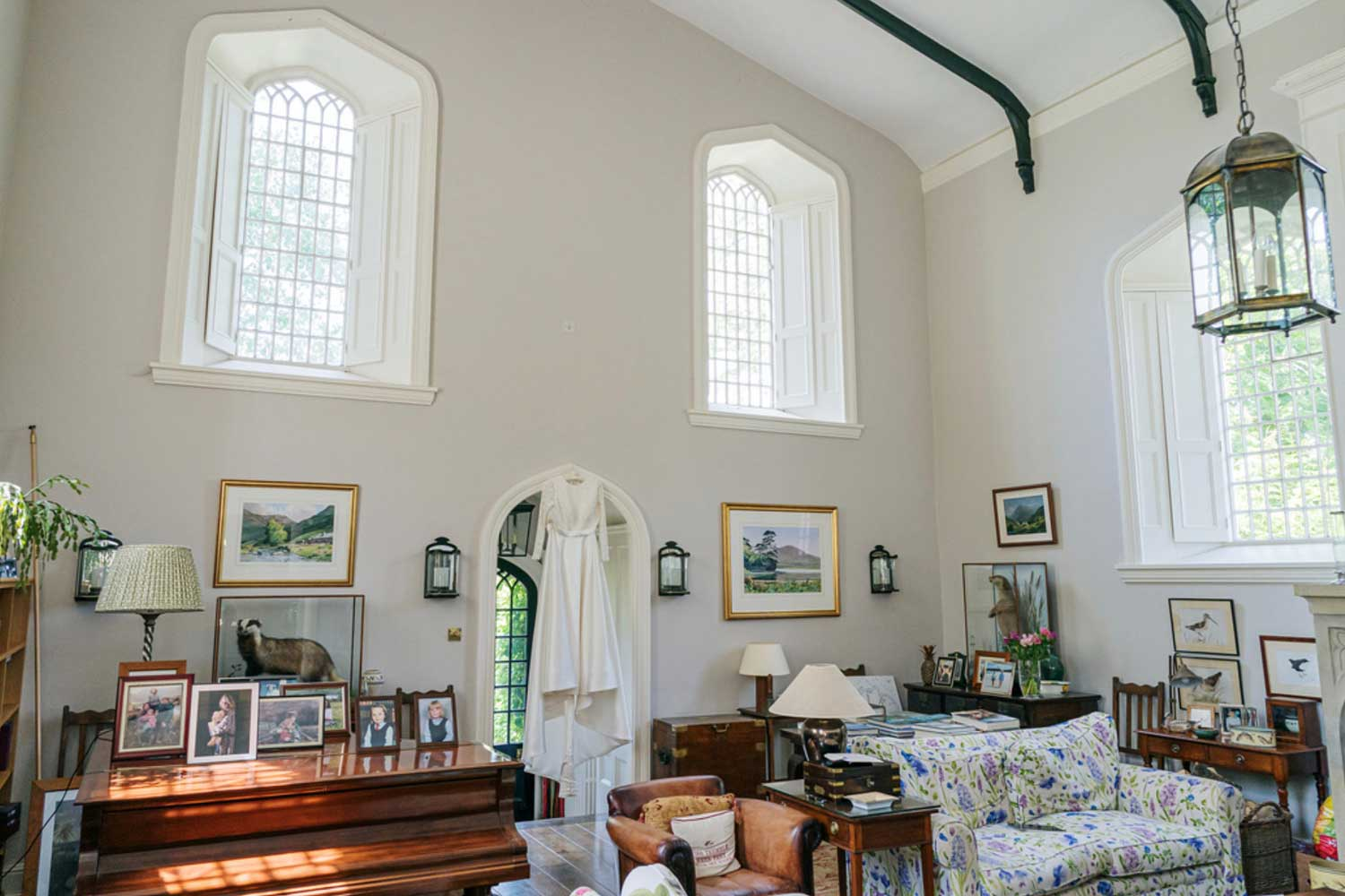 Stylish Converted Chapel | Bed & Breakfast, Nether Wallop, River Test Valley, England