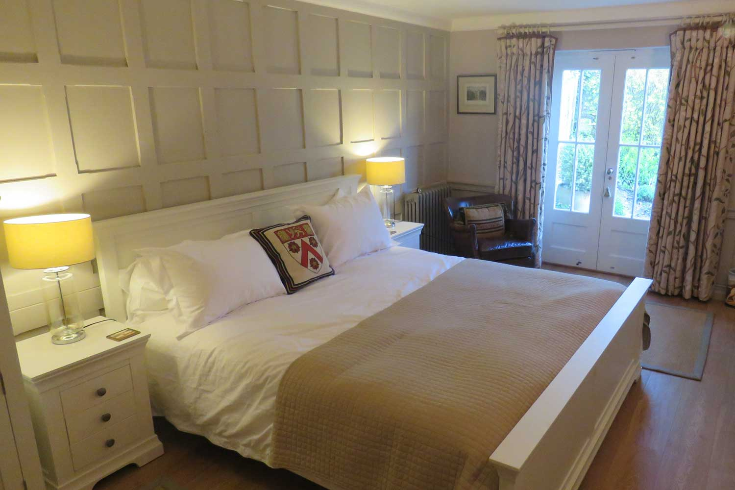 Large Comfortable Beds | Bed & Breakfast, Nether Wallop, River Test Valley, England